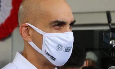 El ministro de Salud Pública Julio Mazzoleni tiene confianza en controlar la pandemia. Foto: IP
