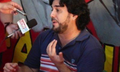Najeeb Amado, titular del Partido Comunista Paraguayo. Foto: Archivo