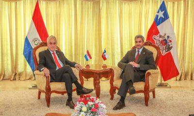 Presidentes Piñera y Mario Abdo: Archivo FB Marito
