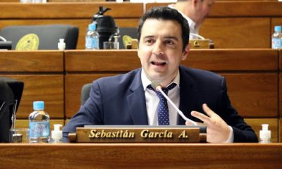 Sebastían García, diputado nacional. (Foto Senado).