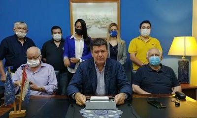 EEfraín Alegre dejó inaugurada la convención liberal. Foto: Captura.