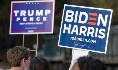 El presidente Trump y el exvicepresidente Joe Biden apuran últimos eventos de campaña para atraer a los indecisos. Foto: BBC