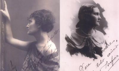 Josefina Plá, ca. 1930 y 1923. Archivo