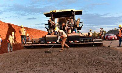 Inversión en obras publicas. Foto MOPC