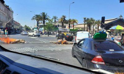 Regresaron las protestas a Chile. Foto: Infobae.
