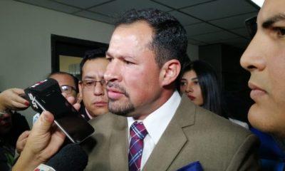 El diputado Ulises Quintana.