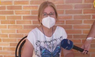 Beatriz Denis, hija del secuestrado Oscar Denis, ex vicepresidente. Foto: EN