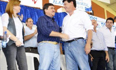 Blas Llano y Efraín Alegre . Foto Gentileza