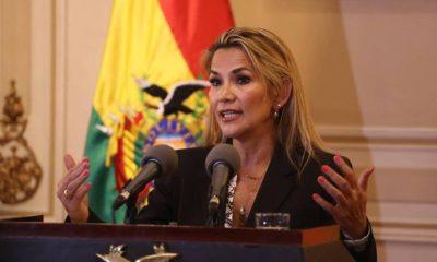Jeanine Añez, expresidenta de Bolivia. Foto: RC