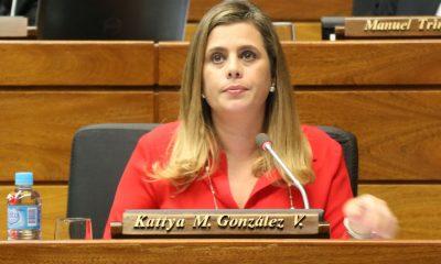 La diputada Kattya González cree que se terminó la época del Partido Colorado, Efraín Alegre y Fernando Lugo. Foto: Archivo