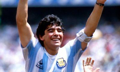 Personalidades de la política y el fútbol se unieron en la despedida a Maradona en las redes sociales. Foto: Archivo