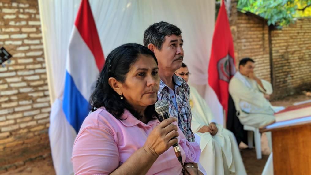 Obdulia Frlorenciano, madre del secuestrado Edelio Morínigo, encabezó muchas actividades por la aparición con vida de su hijo. Foto: Archivo