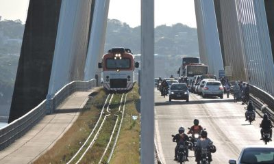 Puente San Roque González. Foto: Gobernación de Itapúa.