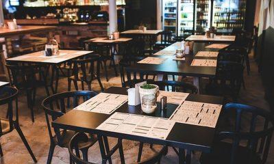 Los restaurantes siguen p´rácticamente vacíos. Ilustración