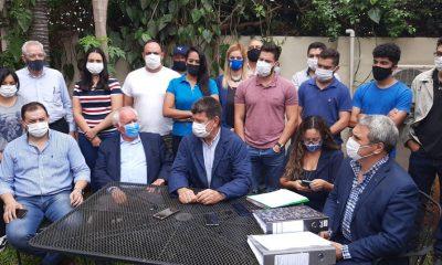 Se recalienta la interna liberal con las denuncias de firmas falsas de Efraín Alegre contra sus adversarios. Foto: Gentileza