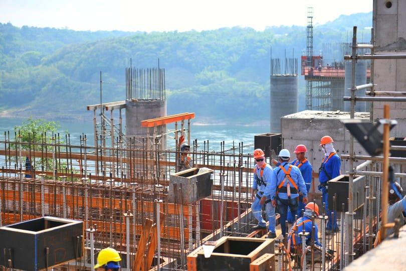 Las obras están en 40%. Foto MOPC