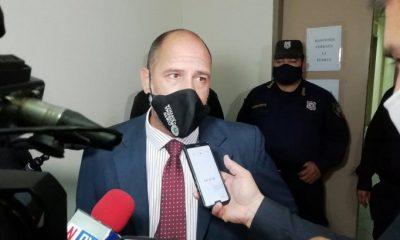 Juez Gustavo Amarilla. Foto Gentileza