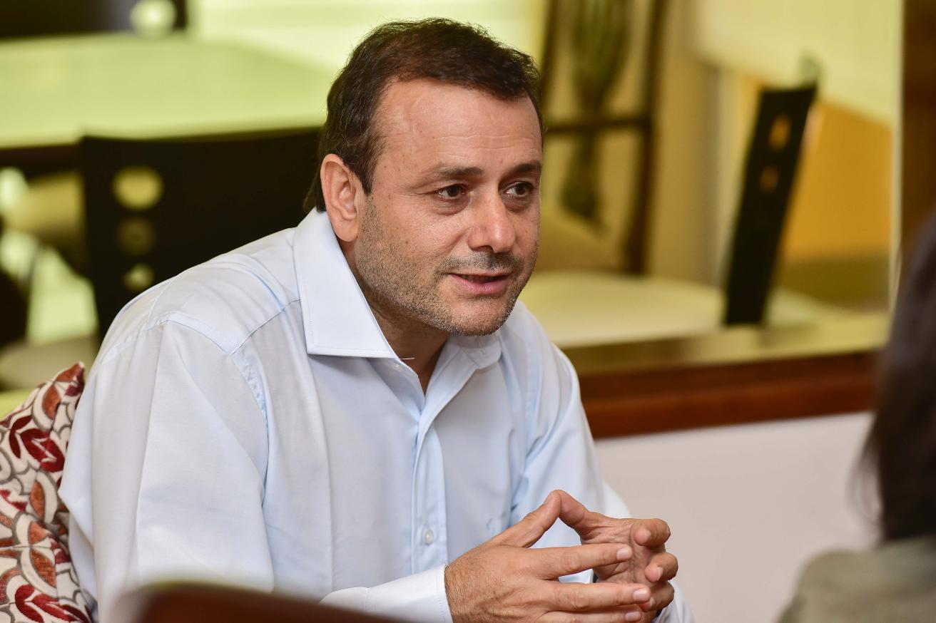 Oscar Herrera Ahuad, gobernador de Misiones. Foto Gentileza.