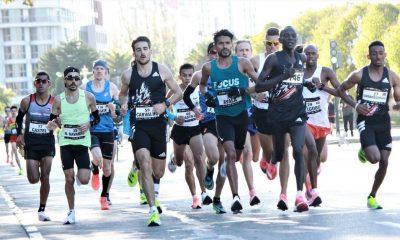 """En la misma ciudad donde debutó como maratonista, Derlys Ayala superó su récord nacional al culminar los 42 kilómetros en 02:10'11"""". Foto: @derlysrun."""