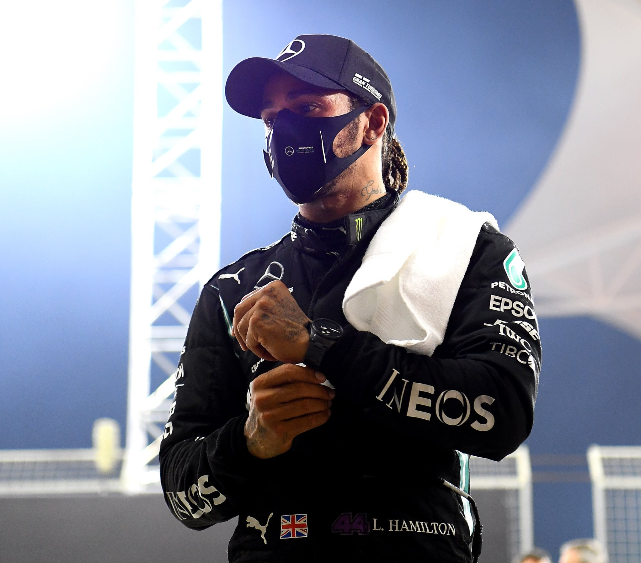 Después de dar positivo al coronavirus, Lewis Hamilton quedó fuera del GP de Sakhir que se llevó a cabo el fin de semana pasado. Foto: @LewisHamilton.