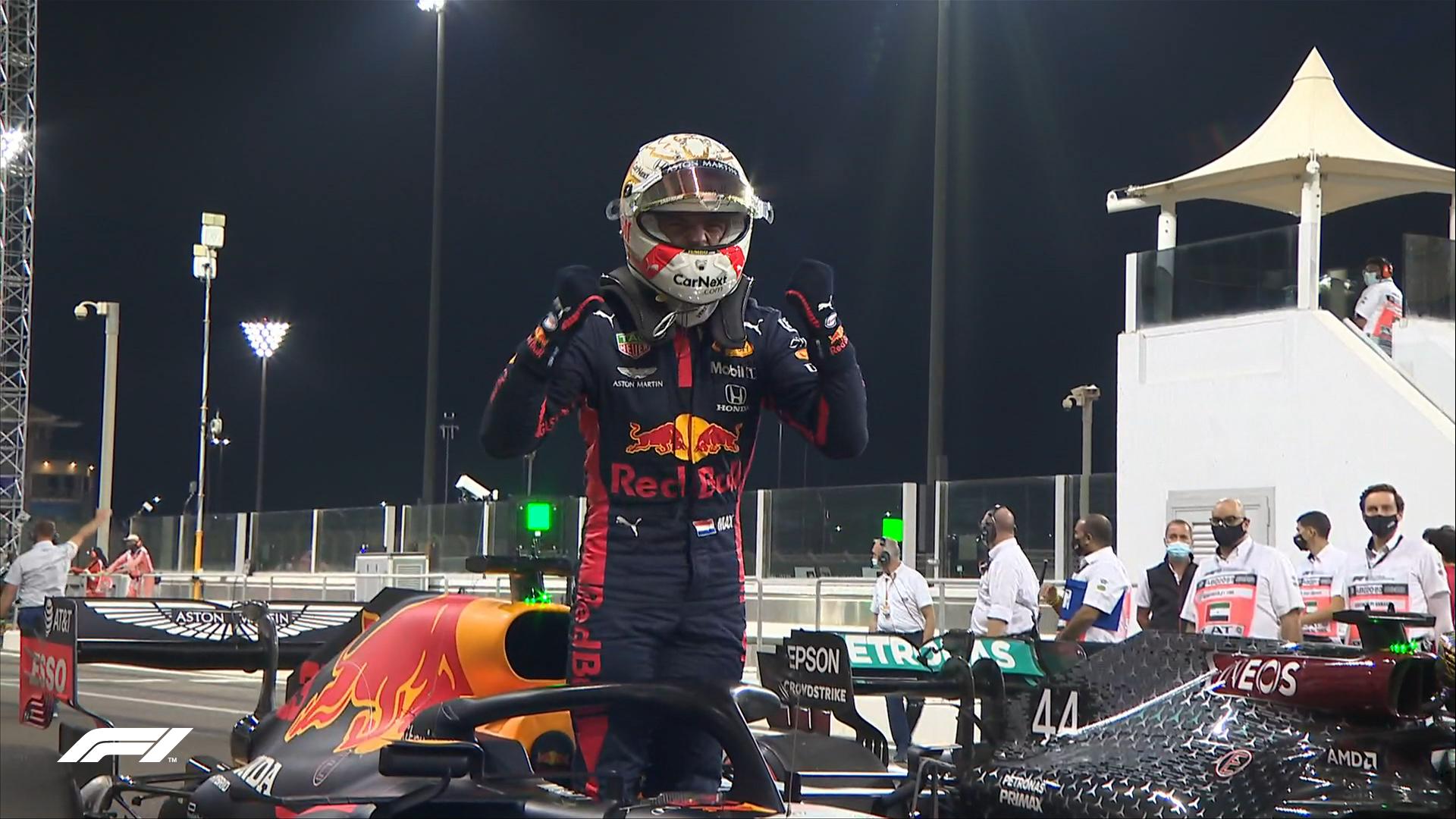 Verstappen marcó un tiempo de 1'35''246 y se quedó con la pole. Dejó en la posición de escolta a Valtteri Bottas y tercero a Lewis Hamilton. Foto: @F1.