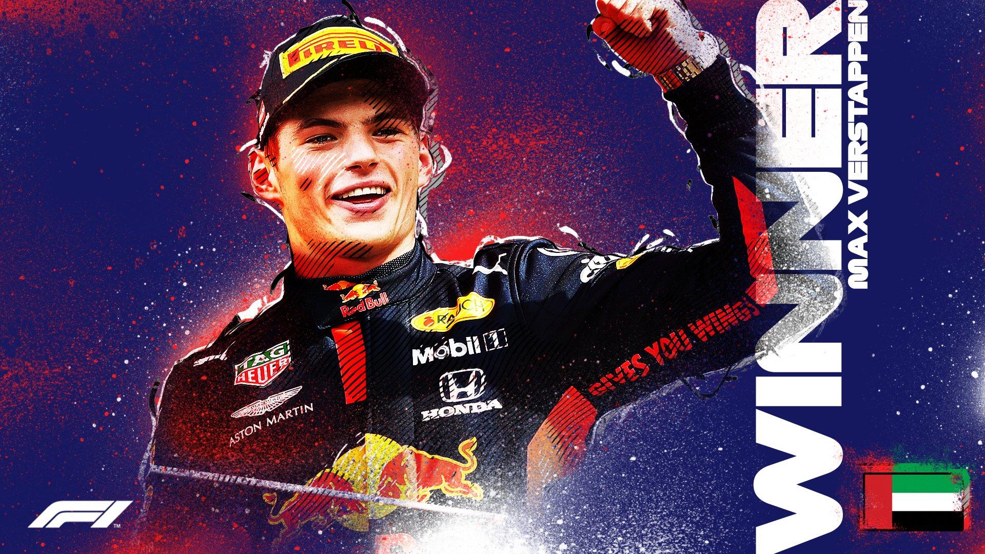 El piloto neerlandés Max Verstappen (23) logró este domingo su segunda victoria de la temporada y la décima de su carrera en la Fórmula 1. Foto: @F1.