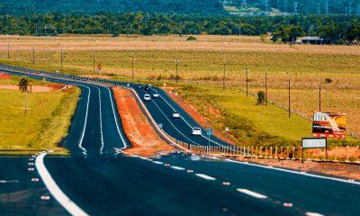 Nuevo sector duplicado de la ruta PY02. Foto: Gentileza