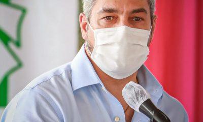 Mario Abdo en Paraguari. Foto Gentileza