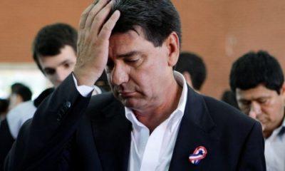 Efraín Alegre se encuentra recluido en la Agrupación Especializada. Foto: Archivo