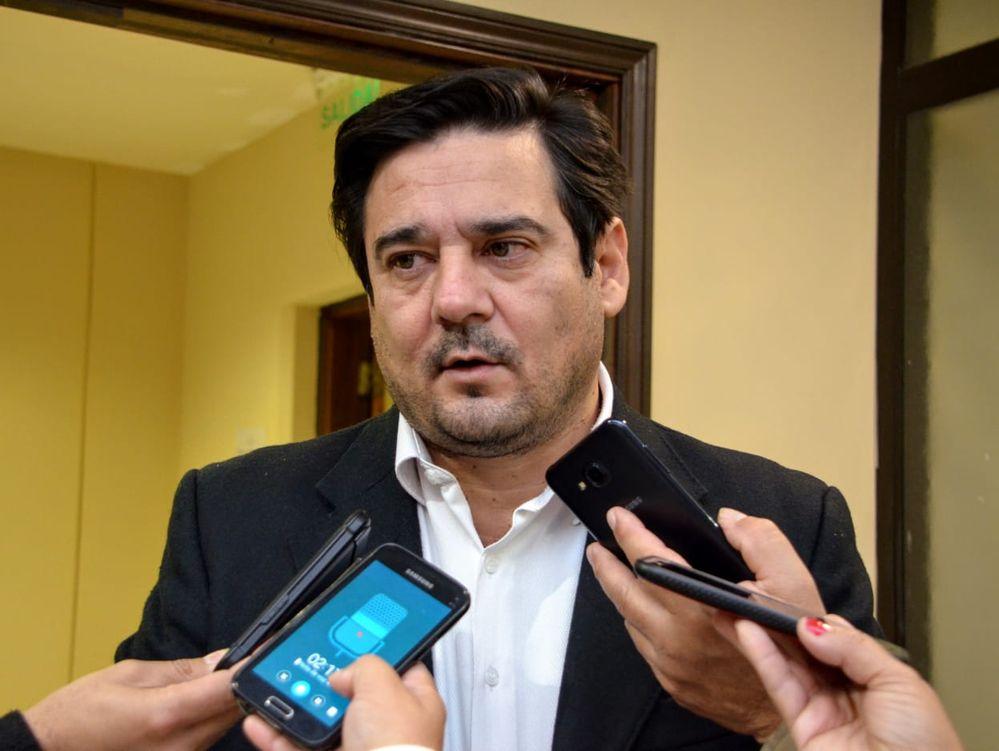 Senador Enrique Salyn Buzarquis. Foto Gentileza