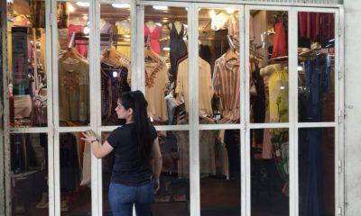 Comerciantes afectados por pandemia. Foto Gentileza.