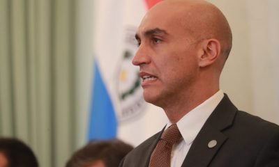 Julio Mazzoleni en la mira del Senado por supuestas irregularidades y poca ejecución presupuestaria. Foto: Twitter
