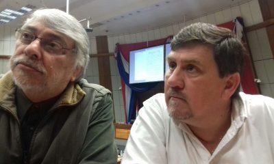 Fernando Lugo y Blas Llano compartieron una reunión anoche en casa de Sixto Pereira, con la participación de los diputados Sergio Rojas y Carlos Rejala. Foto; Archivo