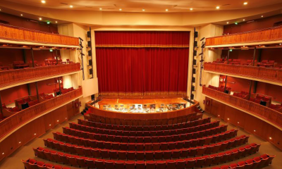 Teatro Municipal Ignacio A. Pane. Archivo
