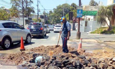 Trabajos en Asunción y Luque. Foto: Gentileza