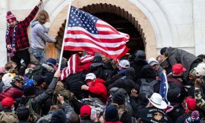 Ataque al Capitolio. Foto: BBC Mundo.