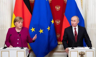 El Kremlin informó que los líderes de Rusia y Alemania abordaron también el conflicto en el este de Ucrania. Foto:Dw