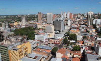Asunción, vista aérea. Imagen ilustrativa de archivo.