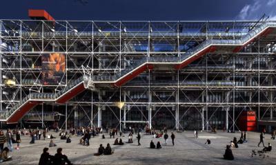 Centro Georges Pompidou, Beaubourg, París