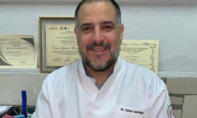 Dr. Carlos Morínigo, neumólogo del Ineram. (Foto: Archivo).