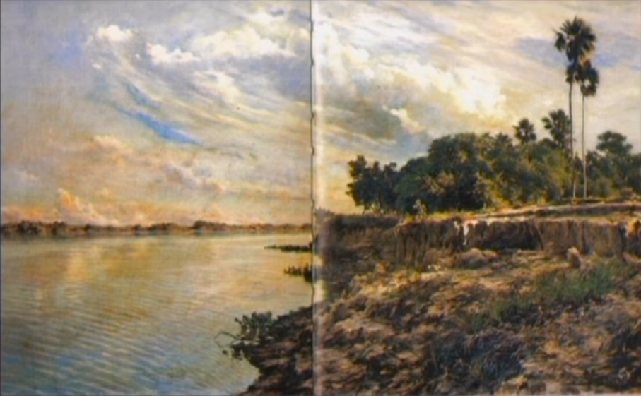 Paz Encina, Río Paraguay (2º Movimiento), stills video, 2010, 3'