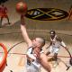 En solo 28 minutos, Nikola Jokic registró 27 puntos, 12 rebotes y seis asistencias para encaminar la victoria de los Denver Nuggets. Foto: www.nba.com.
