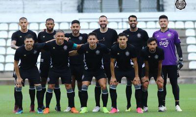 El amistoso se jugó en el Manuel Ferreira. Fue victoria por 3-1 de Olimpia, con dos goles de Jorge Recalde y uno de Carlos Rolón. Foto: @elClubOlimpia.
