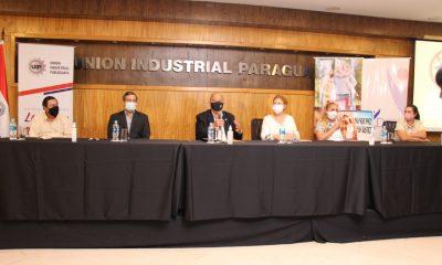 Conferencia de prensa de varias instituciones. Foto: Gentileza
