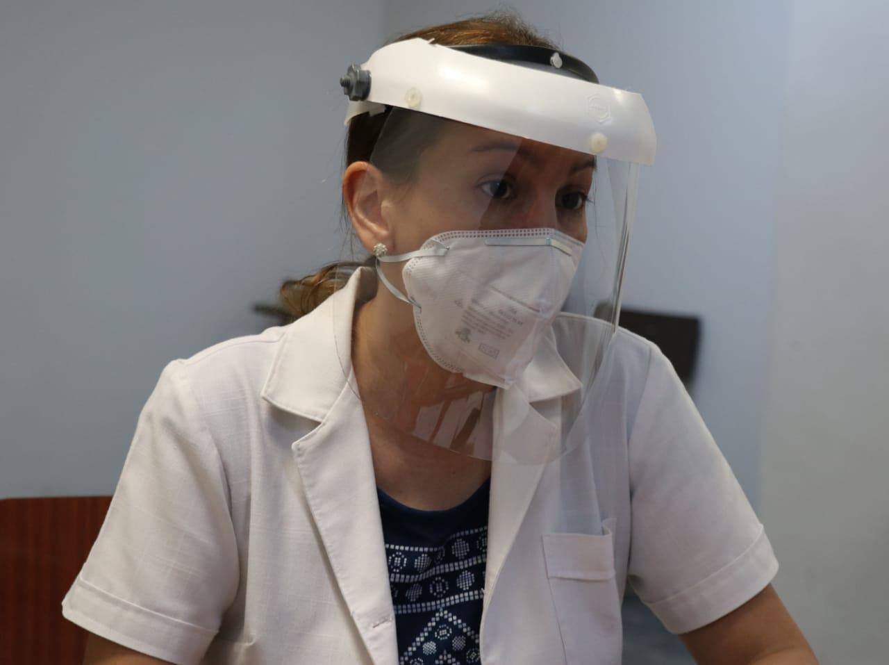 Dra. Carolina Vázquez, del Departamento de Nefrología Adultos del Hospital de Clínicas. Foto: Gentileza