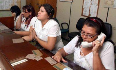 Call center de IPS. Foto: Gentileza
