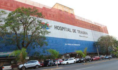 Hospital del Trauma. Foto Gentileza