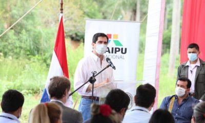 El presidente Mario Abdo Benítez espera que para marzo, cuando pida al Senado el acuerdo para el cargo de Federico González en Itaipú, el rechazo de la oposición se haya disipado. Foto: Presidencia