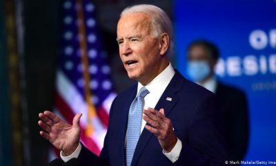 El demócrata Joe Biden se enfrenta a cuatro años difíciles. Foto: DW