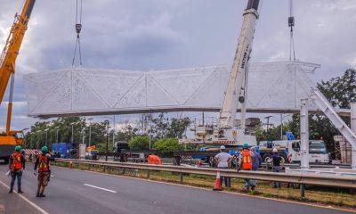 El ministro Arnoldo Wiens rompió el silencio y salió al paso de la polémica por la pasarela de ñandutí, que el MOPC construye en Ñu Guasú. Foto: Archivo